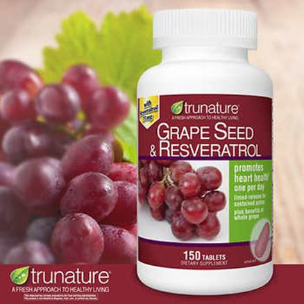 Description: Description: Description: Description: Description: trunature Grape Seed and Resveratrol, 150 Tablets