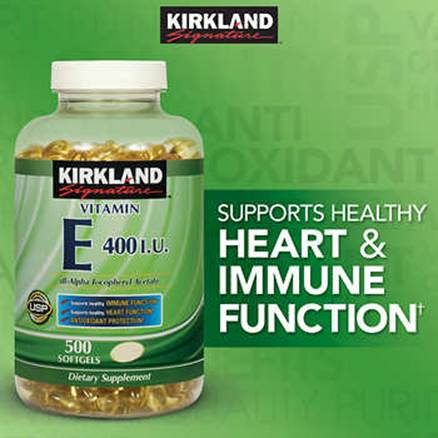 Description: Description: Description: Description: Description: Kirkland Signature Vitamin E 400 IU, 500 Softgels