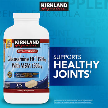 Description: Description: Description: Description: Description: Kirkland Signature� Glucosamine with MSM, 375 Tablets